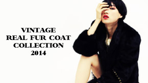 GALLERIE(ギャレリー)LOOKBOOK REAL FUR COAT COLLECTION 2014