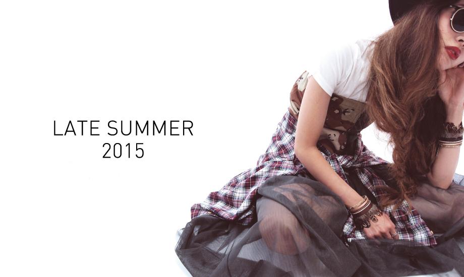 GALLERIE(ギャレリー)LATE SUMMER2015