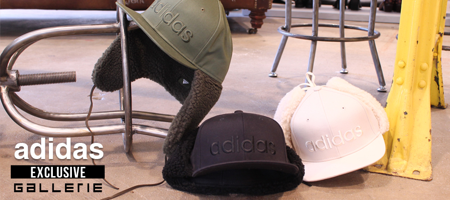 GALLERIE限定!adidas別注キャップをリリース