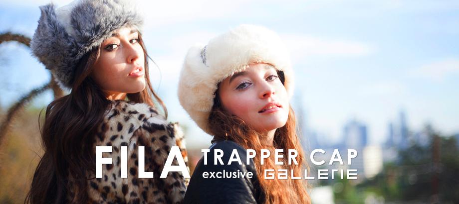 「FILA PYTHON TRAPPER CAP」先行予約販売