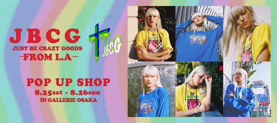 JBCG  POP UP SHOP@gallerieosaka